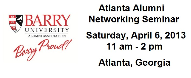 Networking Seminar for Atlanta Barry Alumni