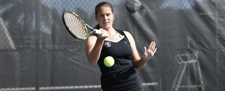 Women's Tennis Hammers Out Road Win Over Wildcats