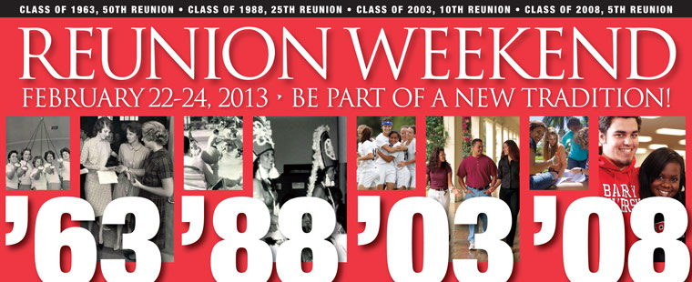 Barry University Homecoming and Reunion 2013 Recap