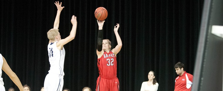 Women's Basketball Bows Out in SSC Quarters