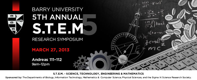 Fifth Annual STEM Research Symposium