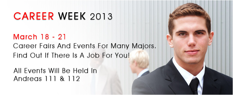 Career Services is hosting Career Week