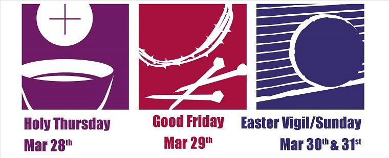 Holy Week Triduum Celebration