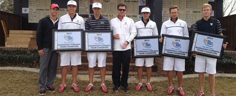 No. 1 Bucs Men's Golf Win Southeastern Collegiate