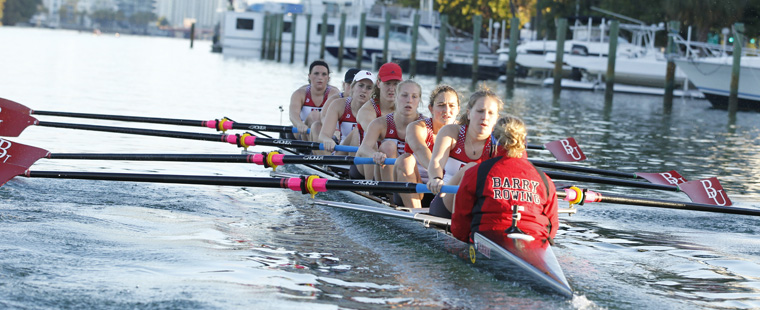 Rowing Opens Season Saturday