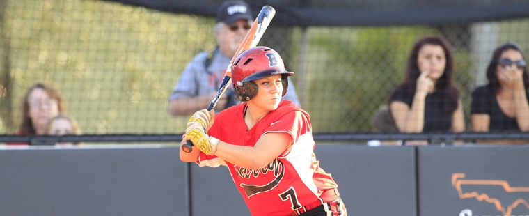 Softball Pounds Out Series-Opening Win Over Sharks