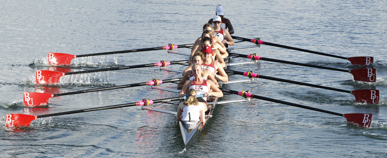 Bucs Rowing Outrace FIT in Season's First Event