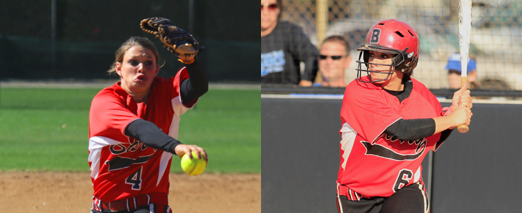 Softball Sweeps SSC Players Of The Week