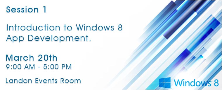 Microsoft App Labs for Windows 8 Developers – Session One