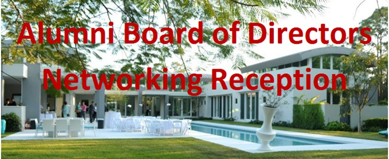Alumni Board of Directors Reception in South Miami