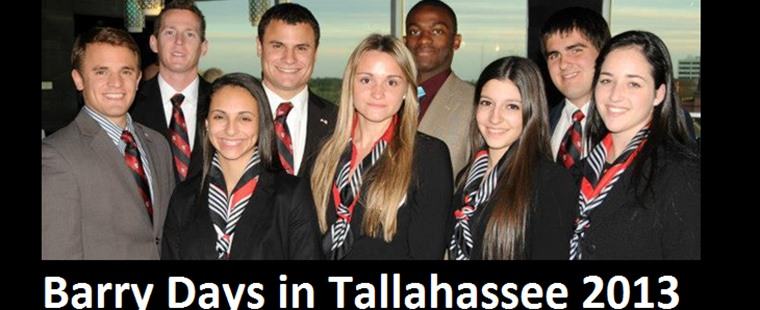 Barry Days in Tallahasse 2013
