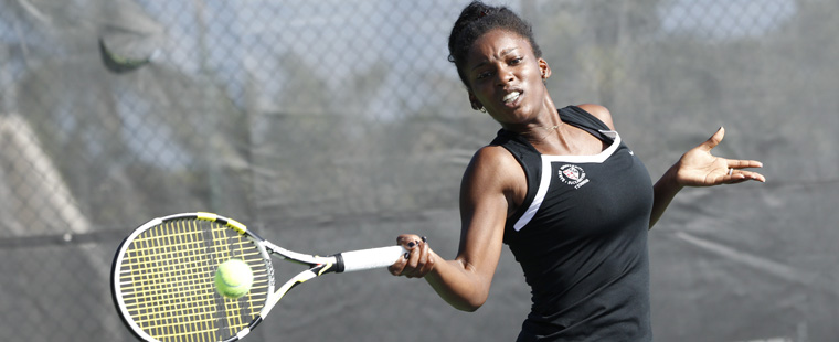 No. 4 Women's Tennis Blanks No. 9 Cal-Pennsylvania