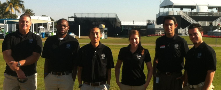 HPLS students volunteer at Cadillac World Golf Championship at Doral