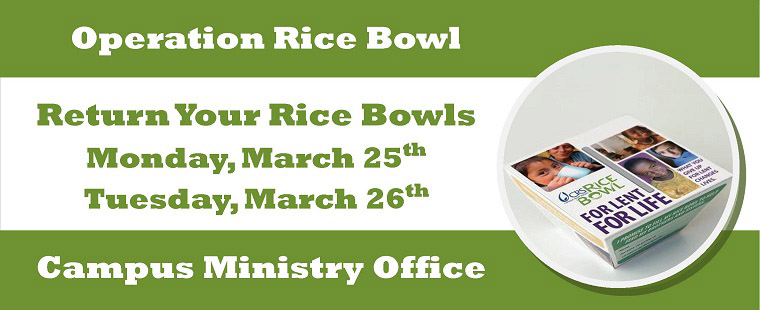 Time to Return the Rice Bowls