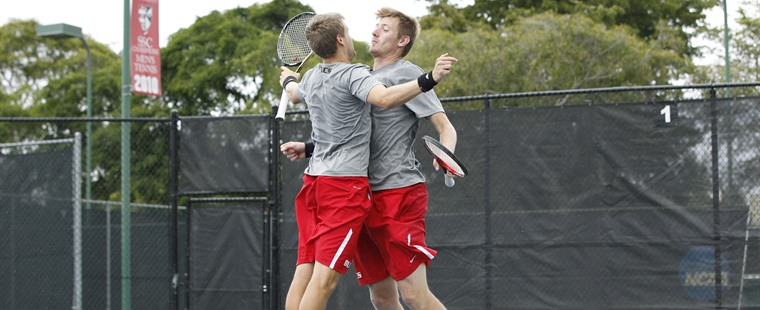 Men's Tennis Match with No. 1 Armstrong Resumes at 9 a.m.