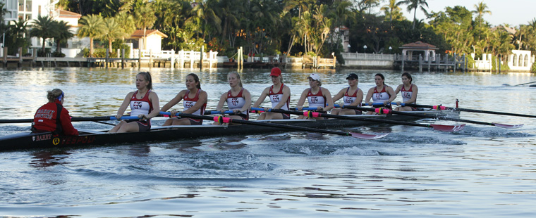Barry Rowing 8 Repeats as SSC Boat of Week