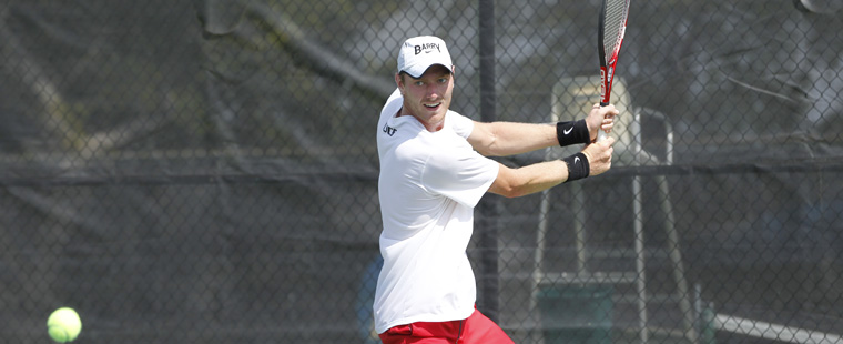 Mokrzycki Earns 3rd SSC Men's Tennis Award