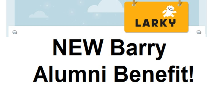 New Barry Alumni Benefit: Larky