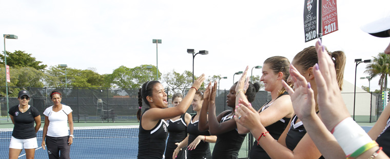 Women's Tennis Moves up to No. 2