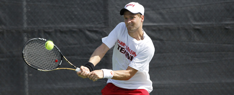 No. 2 Men's Tennis Rallies to Beat No. 4 Lynn
