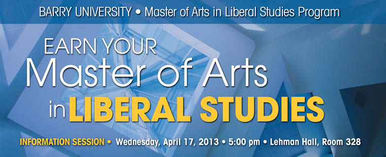 Master of Liberal Arts informational sessions