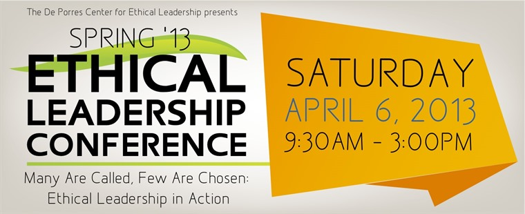 2013 Spring Ethical Leadership Conference