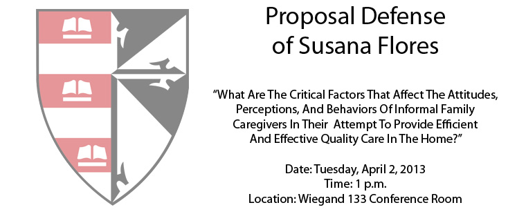 Proposal Defense of Susana Flores