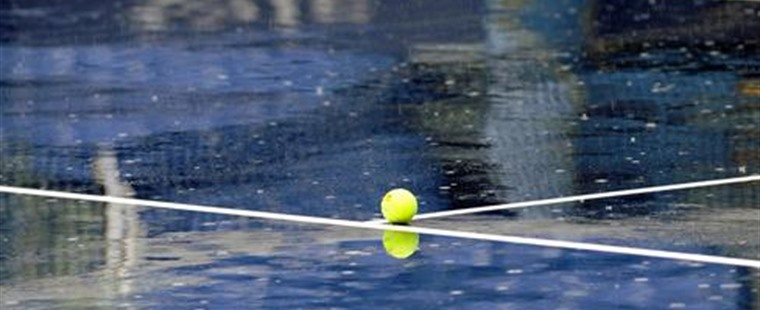 Rain Postpones Women's Tennis Match With Knights