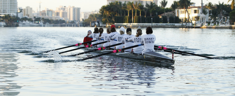 Barry Rowing's Varsity 8 SSC Boat of Week