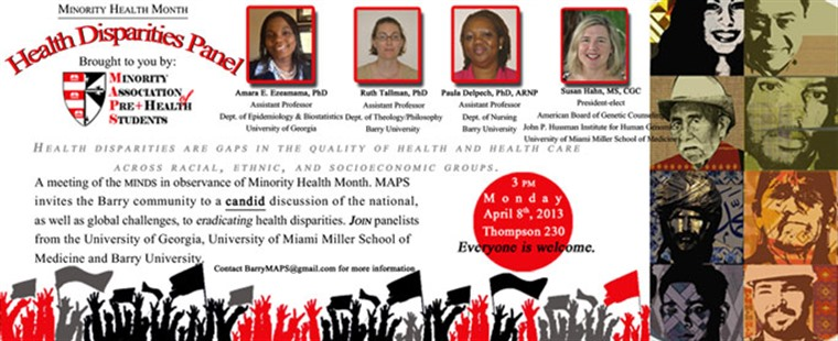 Health Disparities Panel