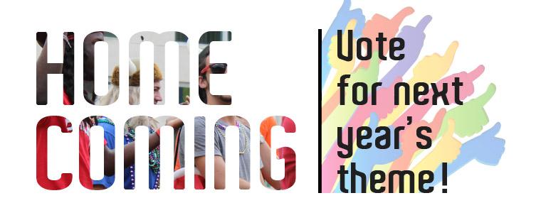 Homecoming Theme's vote