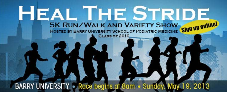 Heal The Stride 5K Run/Walk and Variety Show