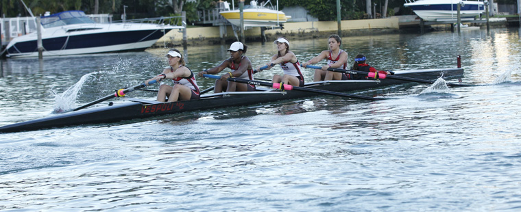 Rowing Captures 4 FIRA Event Finals Races