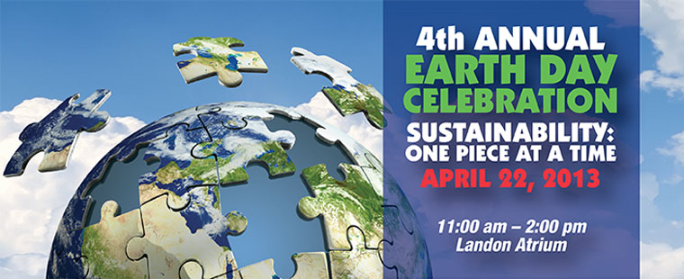 Earth Day – Sustainability: One Piece at a Time
