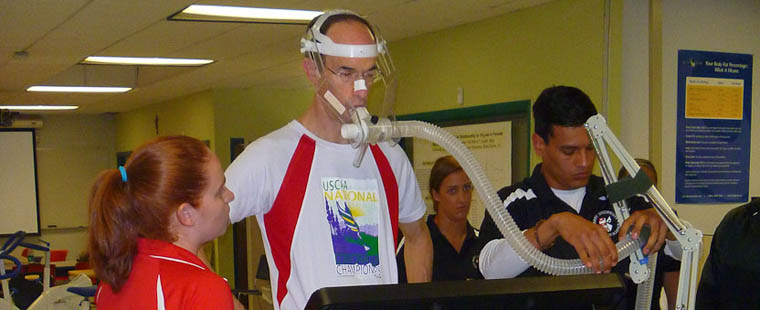 HPLS hosts Royal Caribbean Ltd. CEO for fitness testing