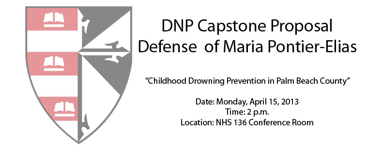 DNP Capstone Proposal Defense of Maria Pontier-Elias
