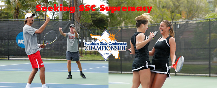 SSC Men's & Women's Tennis Pairings Set