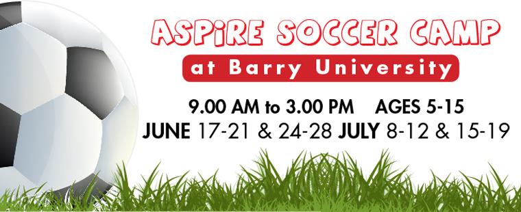 Aspire Soccer Camp At Barry University