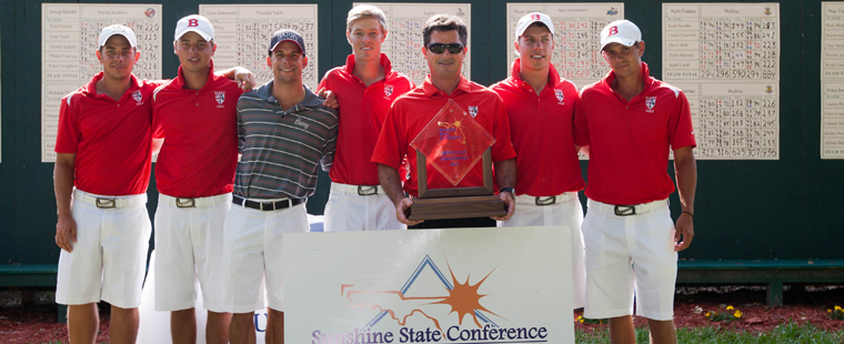 No. 2 Men's Golf Captures SSC Championships
