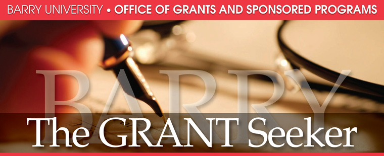 The Grant Seeker - April 2013 - Issue 9