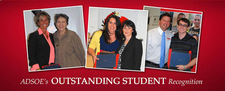 ADSOE's Outstanding Student Recognition