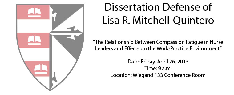 Dissertation Defense of Lisa R. Mitchell-Quintero
