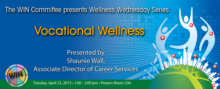 Wellness Wednesdays – Vocational Wellness