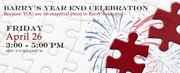 Barry's Year End Celebration