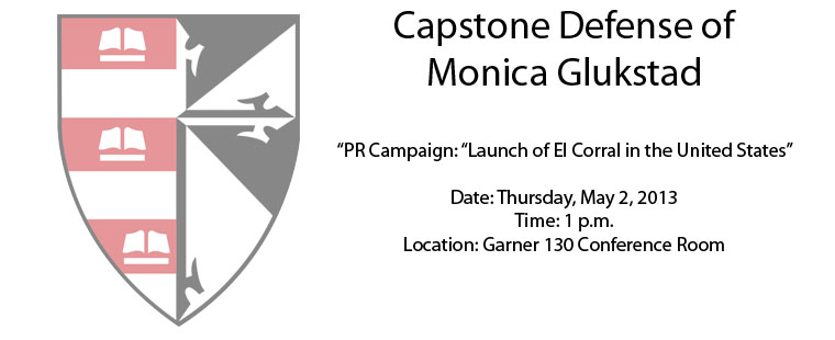 Capstone Defense of Monica Glukstad