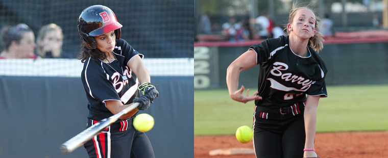 Martinez and Yohe Claim Softball Weekly Spotlight