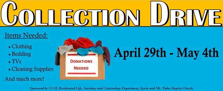 Fifth Annual Barry Collection Drive