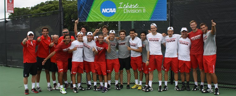 Airborn to Arizona: Men's Tennis Wins NCAA South Regional