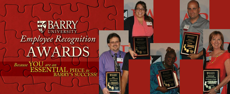 Barry honors staff dedication with Employee Recognition Awards