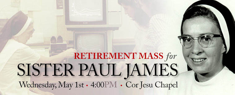 Retirement Mass for Sister Paul James